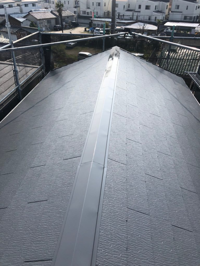 堺市中区 屋根塗装 パーフェクトベスト