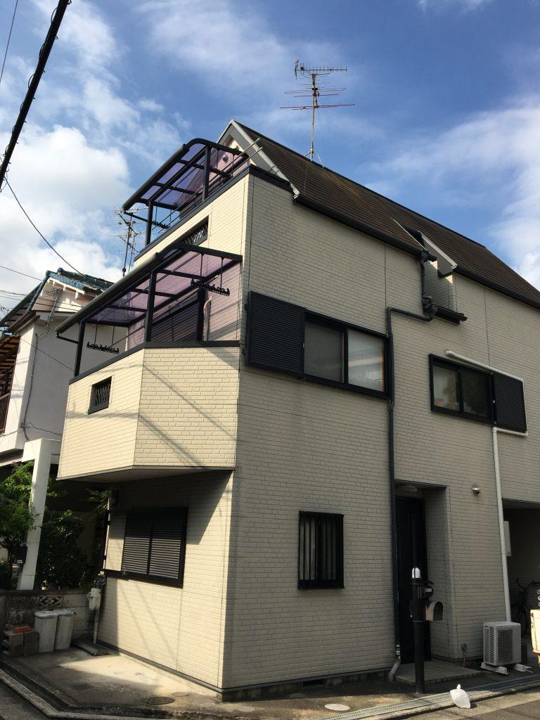 堺市東区戸建て塗装