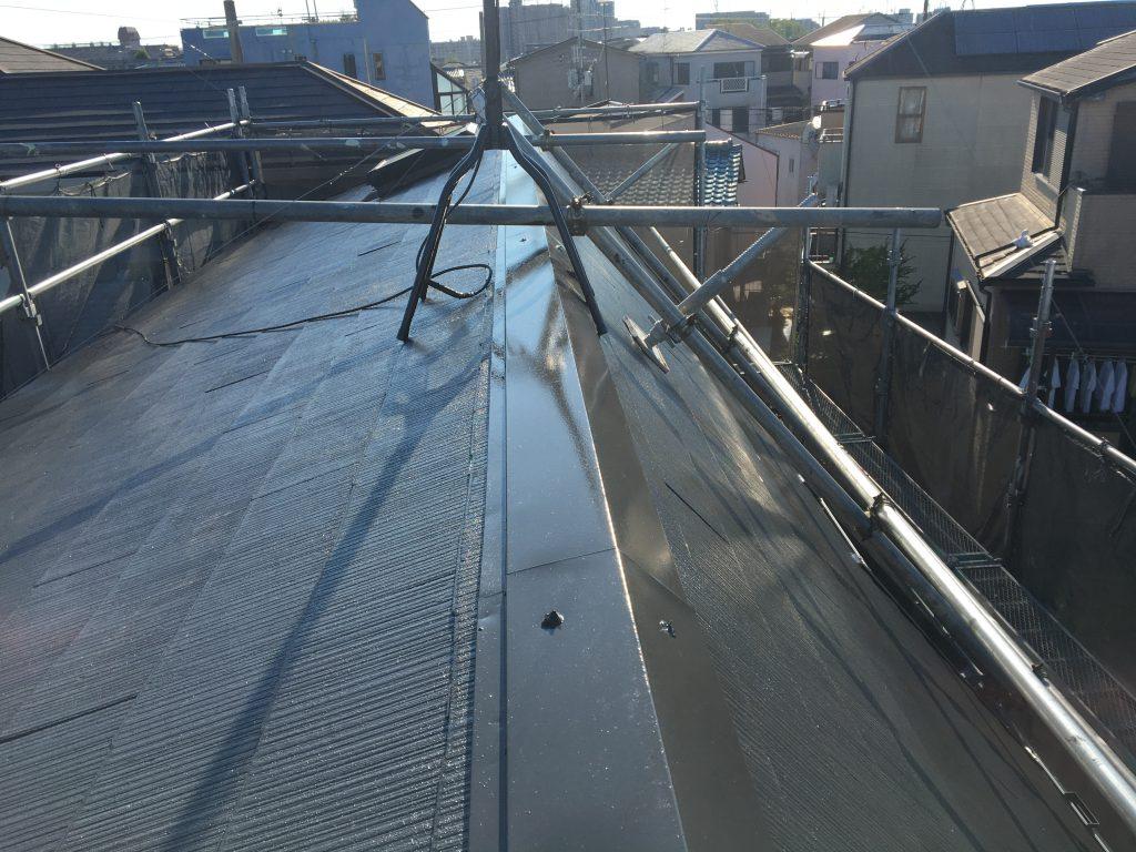 堺市東区 屋根塗装