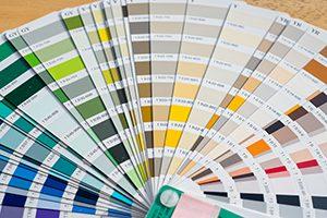 色見本帳から色を選んでカラーイメージ開始