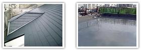 屋根塗装や防水工事などのオプションをします