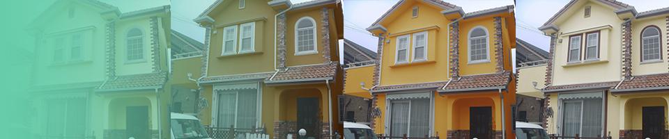 外壁塗装のカラーイメージ作成でシュミレーション